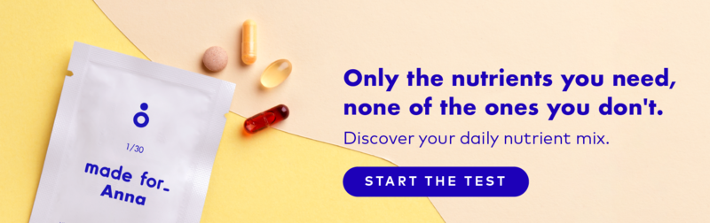 High quality personalized vitamins & supplements to support your health goals, shipped to your door step each month. Take the test and discover your personalized daily nutrient mix.